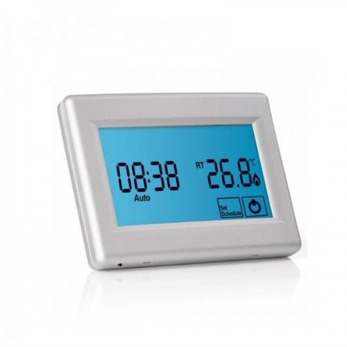 Abacus Essentials Touchscreen Thermostat For Underfloor Heating - White